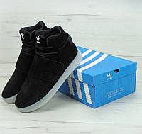 Кроссовки Adidas Tubular Invader Strap. Живое фото (Реплика ААА+)