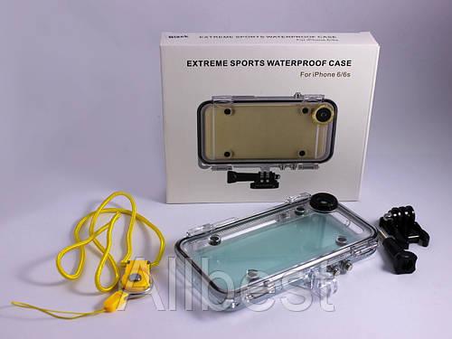 Подводный бокс, водонепроницаемыне чехол для телефона iPhone 6/6S