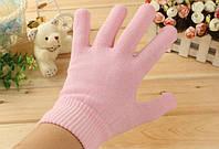 Гелевые увлажняющие перчатки Gel Spa Gloves Розовый