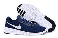Мужские кроссовки Nike SB Paul Men Deep Blue White (Реплика ААА+)