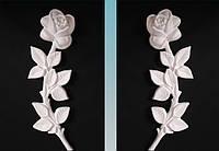 Накладка на памятник Роза №603 28 см полимер