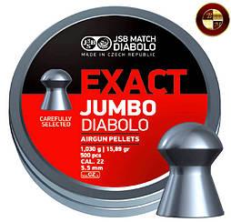 Кулі JSB Diabolo EXACT JUMBO 5,52 mm. 500шт. 1,030 р.