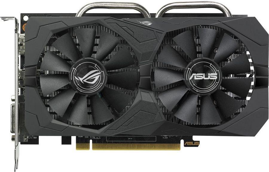 Видеокарта Asus Radeon RX560 ROG Strix OC 4GB GDDR5 (ROG-STRIX-RX560-O4G-GAMING)