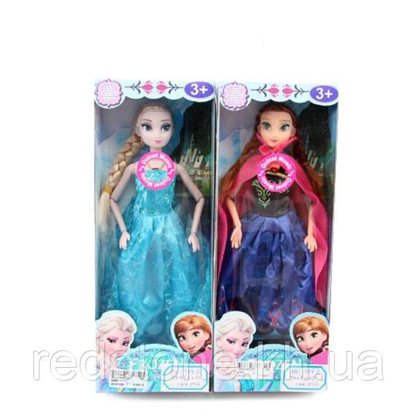 Кукла Frozen Эльза и Анна ожерелье, музыкальная (муз, свет)