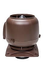 Вентиляционный выход S - 125, коричневый.