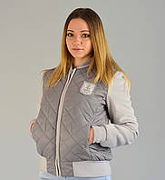 Куртка бомбер Grey