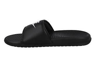 Тапочки мужские спортивные Nike Benassi JDI Slide Black 343880-090 Черный, фото 2
