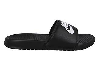 Тапочки мужские спортивные Nike Benassi JDI Slide Black 343880-090 Черный, фото 3