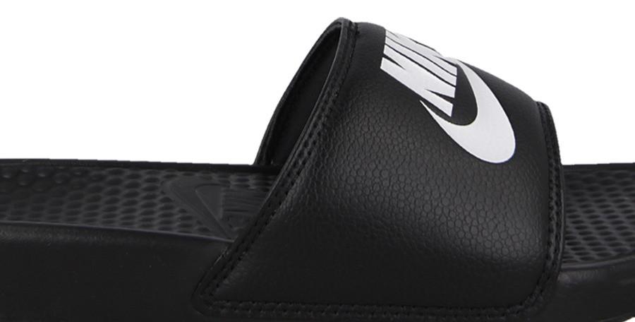 Тапочки мужские спортивные Nike Benassi JDI Slide Black 343880-090 Черный