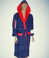 Мужской велюровый халат