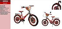 Велосипед 2-х колес 20'' 182016 Тачки со звонком,зеркалом,руч.тормоз,без доп.колес