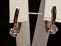 Золоті сережки. Артикул 110518, фото 1