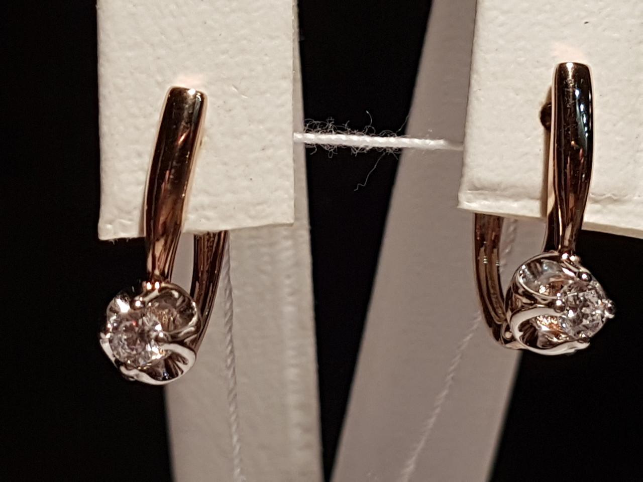 Золоті сережки. Артикул 110518