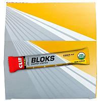 Clif Bar, Bloks Энергетические жевательные смеси, Имбирное пиво, 18 пакетов, 2,12 унц. (60 г) в каждом