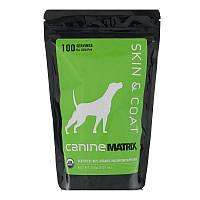 Canine Matrix, Кожа и шерсть, для собак, 3,57 унц. (100 г)