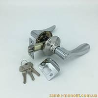 Ручка - защелка АПЕКС 891-01 (с ключом)