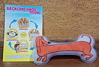Солевая грелка ДельтаТерм - Такса - удобная форма для детей, нежное тепло до +52 градусов