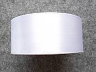 Лента атласная 40 мм, белая