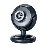 Веб-камера 0.3 Мп з мікрофоном Sven IC-310 Black (IC-310 (SVEN) - веб-камера)