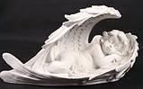 Скульптура Ангел в крылышках №3 38*20 см полимер, фото 2