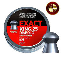 Пули JSB Diabolo EXACT KING 6,35mm. 350шт. 1,645г.