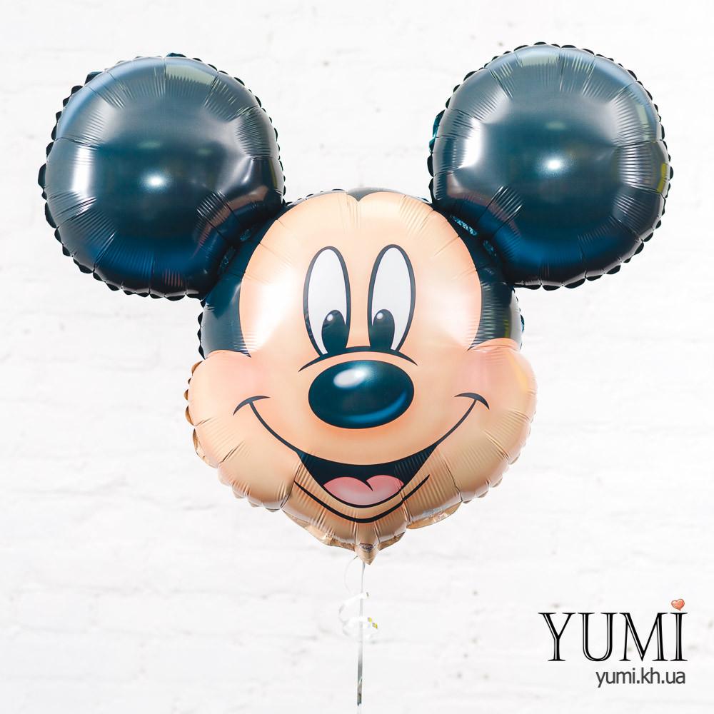 Воздушный шарик Голова Микки Маус