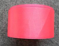 Лента атласная 40 мм , розовая
