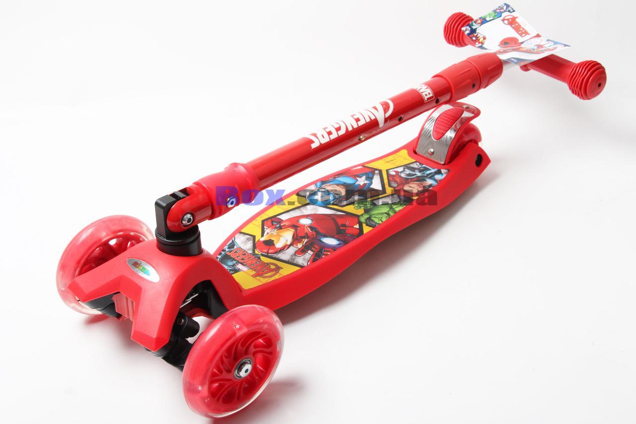 Самокат детский Scooter Maxi Disney Avengers (Герои) (2T1072)