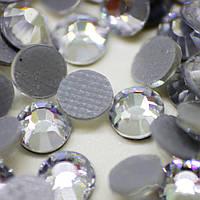 Cтразы ДМС+ .Crystal ss12(3mm).Горячая фиксация.Цена за 100шт