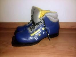 Классические беговые лыжные ботинки SPINE CROSS р-р 34