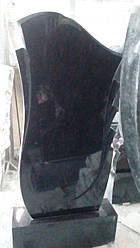 Памятник с полированными пилонами №7