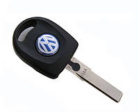 Заготовка,корпус ключа с подсветкой  Volkswagen лезвие HU66, фото 1