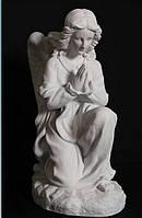 Скульптура из полимербетона Ангел молящийся 50 см, фото 1