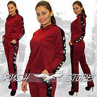 Женский костюм с двусторонними пайетками
