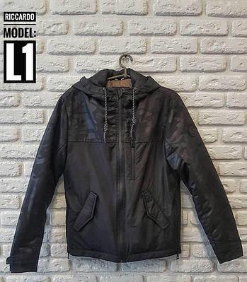 Мужская куртка Riccardo L-1 черный