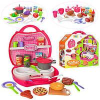 Детская кухня игровая в чемодане, 32 предмета