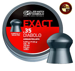 Кулі JSB Diabolo EXACT 9,00 mm. 100шт. 5,250 р.