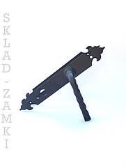 Ручка на планке для дверей и ворот (калитки) под ковку