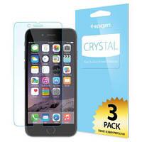 Защитная пленка Apple iPhone 6/6s Spigen Screen Protector Crystal (3 pcs of Front) прозрачная (SGP10927)