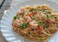 Спагетти с омаром