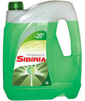SIBIRIA стеклоомыватель зимний (-20С) 4л.