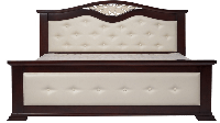 Спальня из массива ольхи Жемчужина (Перлина)  Room, темный орех