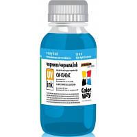 Чернила ColorWay Canon UV CLI-426 Blue (CW-CU426C01)