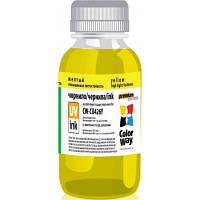 Чернила ColorWay Canon UV CLI-426 Yellow (CW-CU426Y01)