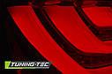 Задние фонари BMW E60 07.03-02.07 RED SMOKE LED BAR, фото 3
