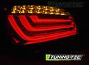 Задние фонари BMW E60 07.03-02.07 RED SMOKE LED BAR, фото 4