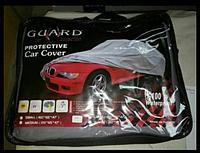 Тент, чехол для автомобиля Седан с подкладкой Guard S Серый  406х165х120 см, фото 1