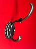 Вішалка гачок для одягу метал