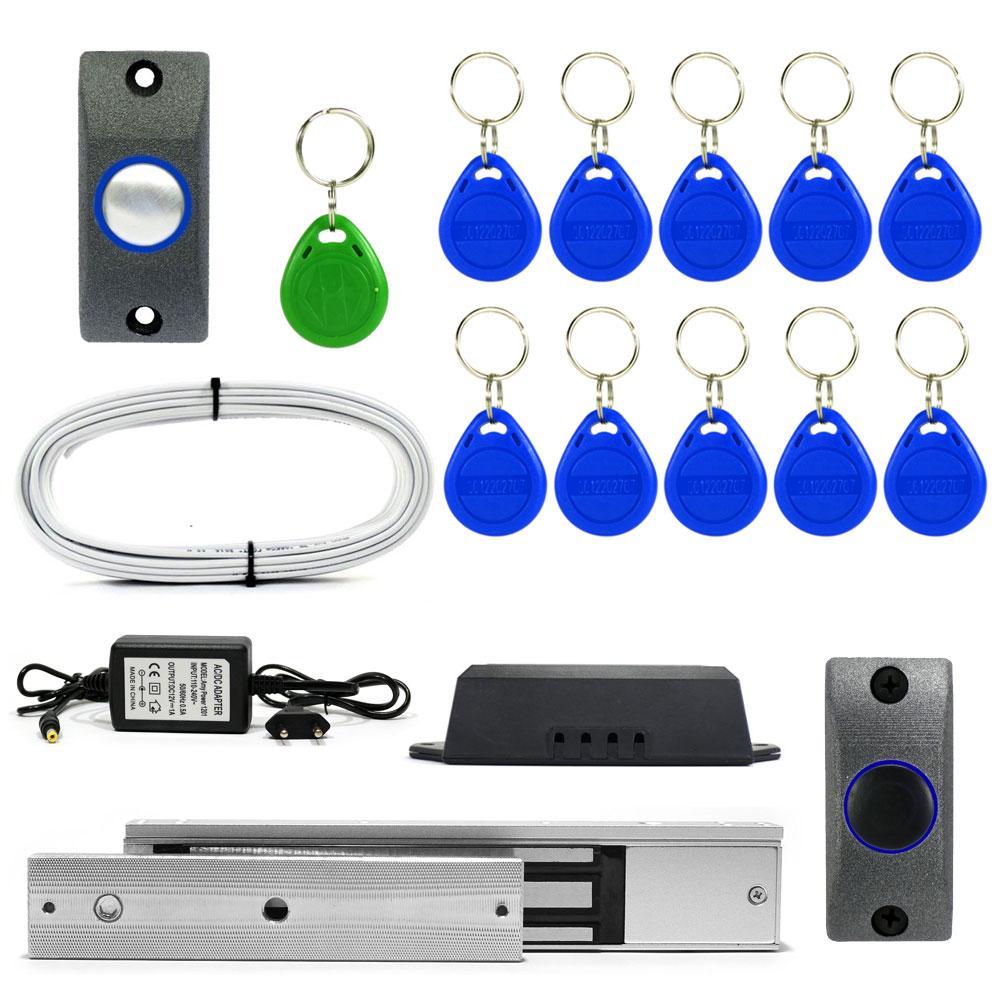 Электромагнитный замок ЕМ280-Е комплект для самостоятельной установки в помещении
