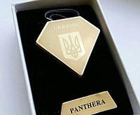 USB зажигалка Panthera Ukraine с гербом Украины